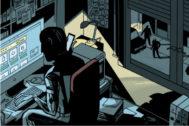 Lupín vigilado por la Guardia Civil. JOSÉ JAVIER OLIVARES (Todas las ilustraciones).