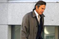 Josep Pujol, a su salida de la Audiencia Nacional en noviembre de 2015