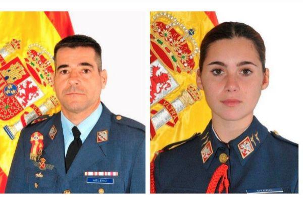 Fotografía facilitada por el Ministerio de Defensa del comandante...