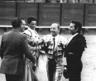 Luque Gago, la tarde de su despedida en Sevilla, entre Romero, Paula y Ojeda