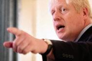 El primer ministro británico Boris Johnson, en una imagen reciente.