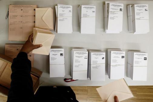 Resultado de imagen de papeletas electorales