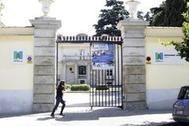 Fachada de un colegio de Madrid