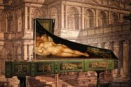 Escenografía veneciana en la exposición 'Ópera' de CaixaForum.