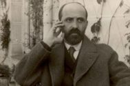 El poesta Juan Ramón Jiménez en Madrid en 1923.