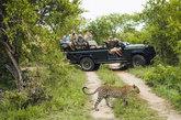 En el noroeste de Sudáfrica, ocupando parte de la <strong>frontera...