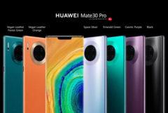 Huawei anuncia los Mate 30, sus nuevos móviles con Android, pero sin apps de Google