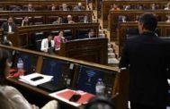 Vista del interior del Congreso de los Diputados la semana pasada.