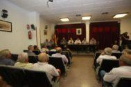 Reunión del presidente de la Diputación con los regantes.