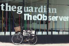 Una imagen de la sede del diario británico 'The Guardian'.