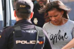 Ana Julia Quezada, a su llegada para conocer el veredicto en la Audiencia Provincial de Almería