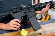 El fusil AR-15 de Colt, uno de los más populares en EEUU.
