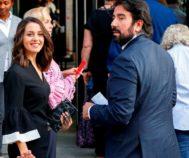 Inés Arrimadas junto a su marido, Xavier Cimá