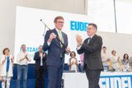 Gorka Urtaran recoge la makila como nuevo presidente de Eudel.