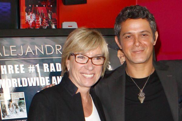 Rosa Lagarrigue y Alejandro Sanz