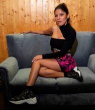 Isa P., en la presentación de su videoclip, a la que no fue su familia.