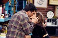 La relación de Ross y Rachel es el principal eje amoroso de 'Friends'.