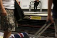 Una estación de Metro.