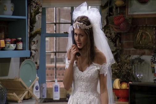 Jennifer Aniston, en el primer capítulo de 'Friends'.