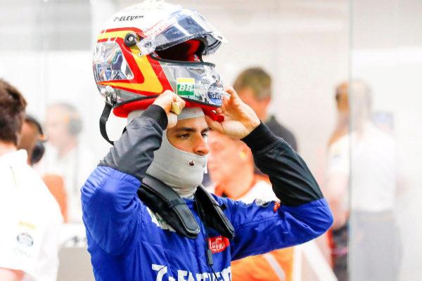 Singapore (Singapore).- Spanish Formula One driver <HIT>Carlos</HIT>...