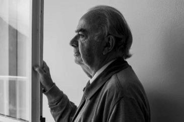 José Varela Ortega, en la sede de la Fundación Ortega-Marañón, en Madrid.