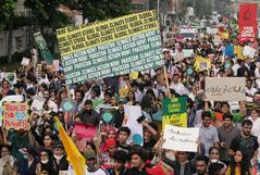 Manifestaciones en varias ciudades del mundo contra el cambio climático