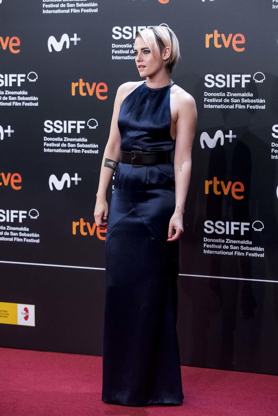 Kristen Stewart - Alfombra roja inaugural de la 67 edición del Festival de Cine de San Sebastián