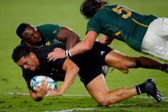 Nueva Zelanda se basta ante Sudáfrica con un par de arrancadas geniales