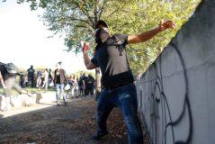 Más de 150 detenidos en una tensa jornada de protestas