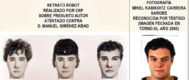 A la izquierda, retrato robot del asesino realizado en 2001 con los testimonios de Borja Giménez y otros testigos. A la derecha, una fotografía de 'Ata' de esa época.