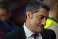 Ernesto Valverde, en Granada.