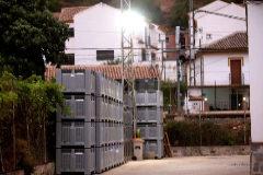 Vista de las instalaciones de la empresa Incarybe S.L, propietaria de La Montanera del Sur, este jueves en Benaoján (Málaga).