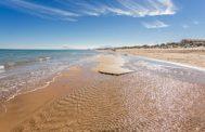 La playa de Oliva (Valencia).