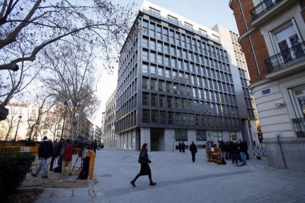 Sede la Audiencia Nacional en Madrid.