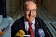 El secretario de los socialistas catalanes, Miquel Iceta.