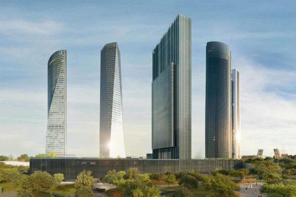 Así será el edificio Caleido, la quinta estrella del 'skyline' madrileño