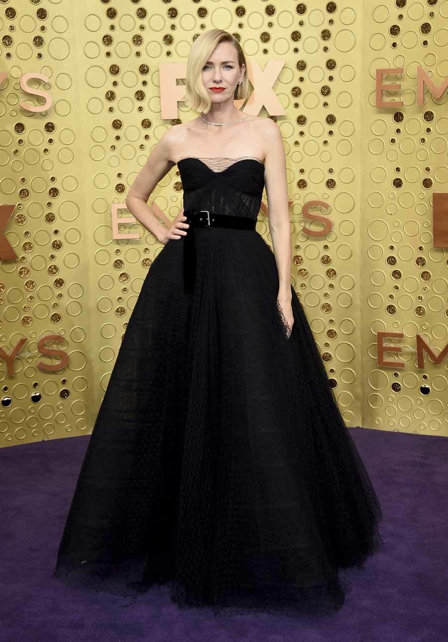 Naomi Watts - Alfombra roja Premios Emmy 2019
