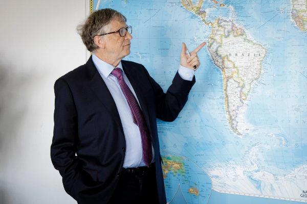 Bill Gates, filántropo y fundador de Microsoft.