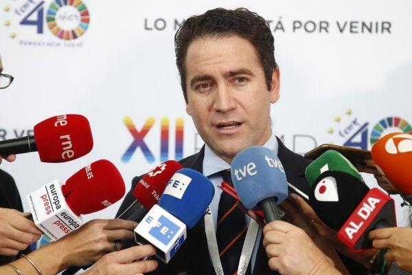 Teodoro García Egea, en el Pleno de la FEMP celebrado este fin de...