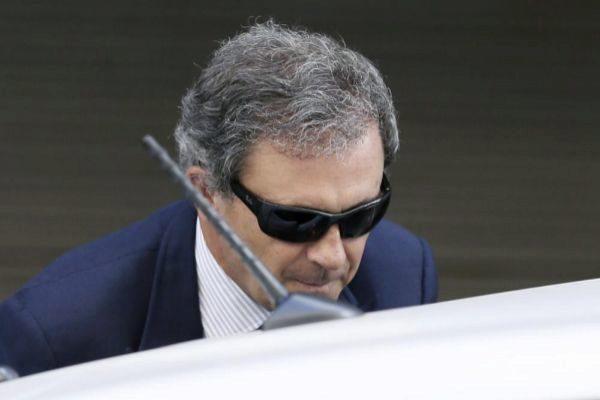 Jordi Pujol Ferrusola, tras declarar en la Audiencia Nacional en...
