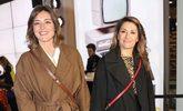 La presentadora Sandra Barneda y Nagore Robles en la presentación de...