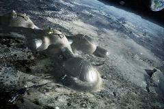 'Lunar habitation', del estudio de Norman Foster.