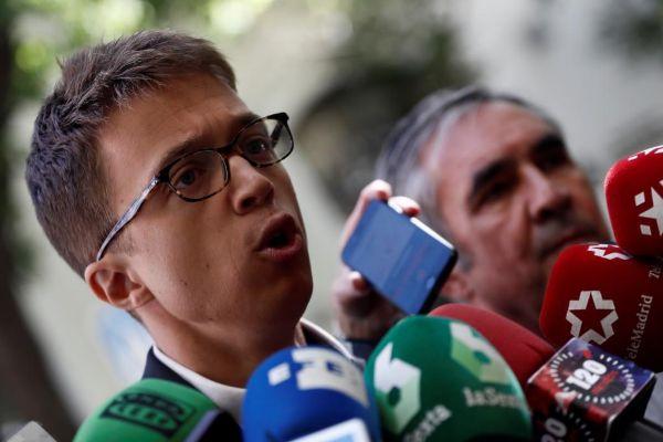 Íñigo Errejón, portavoz de Más Madrid en la Asamblea de Madrid.