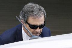 Jordi Pujol Ferrusola, tras declarar en la Audiencia Nacional en septiembre de 2014.