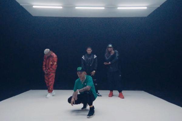 Imagen del vídeo de B11, el nuevo single de Rvssian, Darell, Myke...