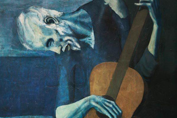 Este lienzo esconde la imagen de una mujer desnuda.
