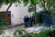 Uno de los nueve miembros de los CDR detenidos por la Guardia Civil.