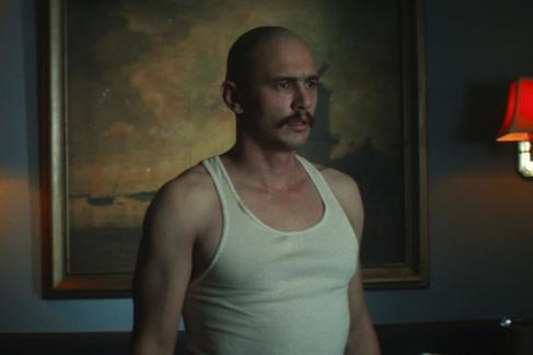 James Franco en un fotograma de la película 'Zeroville'