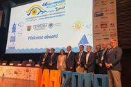 Sesión inaugural del Congreso Mundial de Aguas Subterráneas, celebrada este lunes en Málaga.