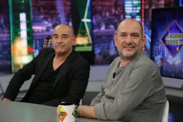 Eduard Fernández y Karra Elejalde en El Hormiguero, programa de...